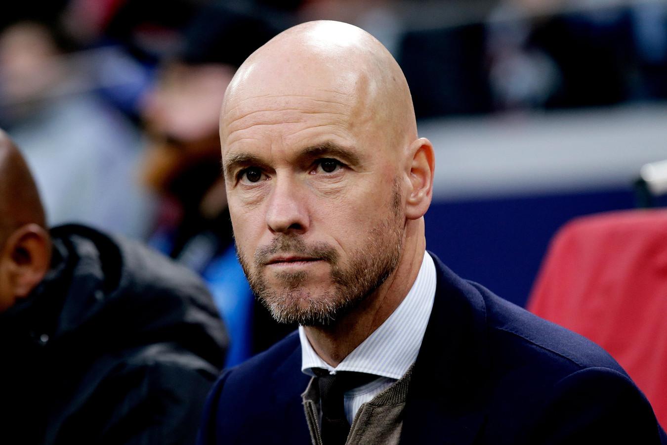 Erik ten Hag verlengt zijn contract bij Ajax.