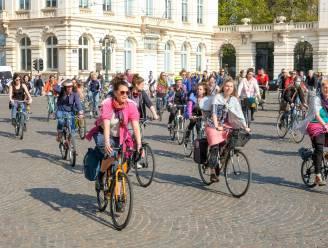 2.000 fietsers van Cycle for Freedom voerden zondag actie in Brussel