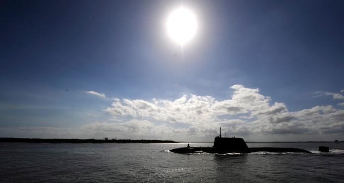 Archieffoto van een onderzeeboot van de Britse Royal Navy.