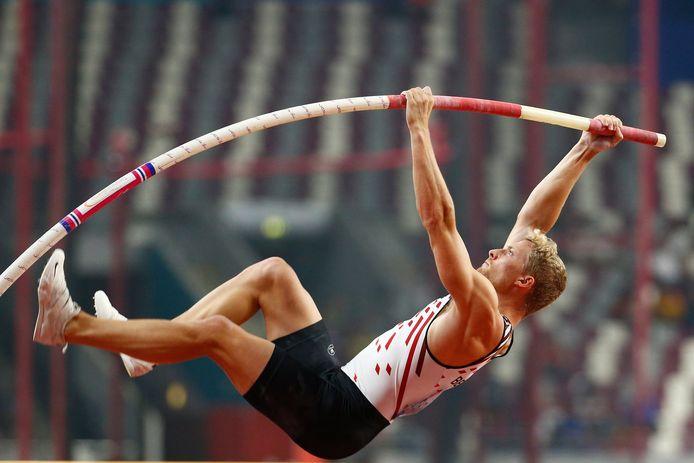Ben Broeders in actie in Doha.