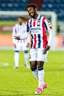 John Yeboah werd afgelopen zomer aangetrokken,  maar heeft Willem II inmiddels al weer verlaten. Hij is verhuurd aan Almere City FC.