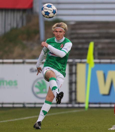 Baggerman over gebrek aan speeltijd bij FC Dordrecht: 'Ik ga niet met een vinger wijzen'