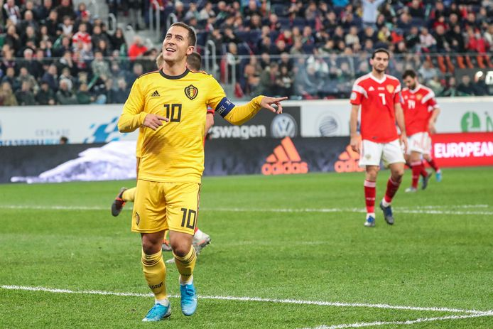 Eden Hazard zorgde voor twee treffers.