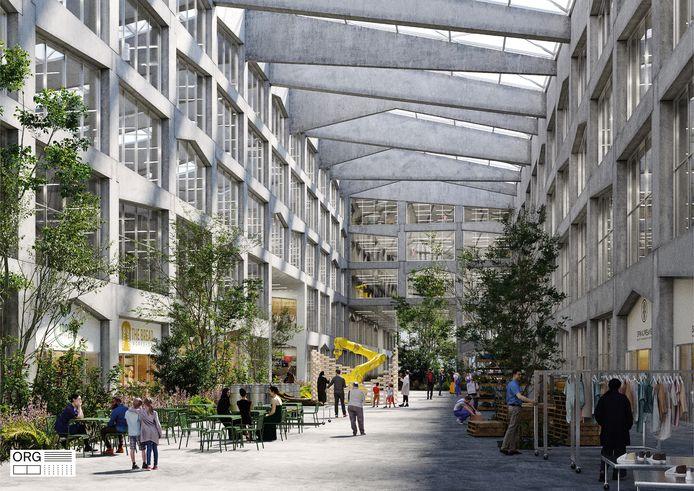 Het Broeklin-project in Machelen.