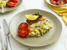 Wat Eten We Vandaag: Gebakken kabeljauw met chermoula