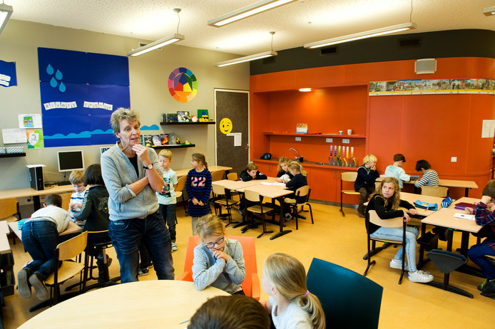 Unit wit op Basisschool Het Talent.