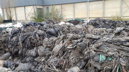 130 ton meer landbouwfolie geleverd op recyclagepark en niemand weet van wie dat komt