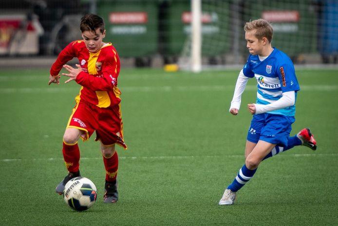 De jeugd van GA Eagles en PEC Zwolle komt zaterdag niet in actie.