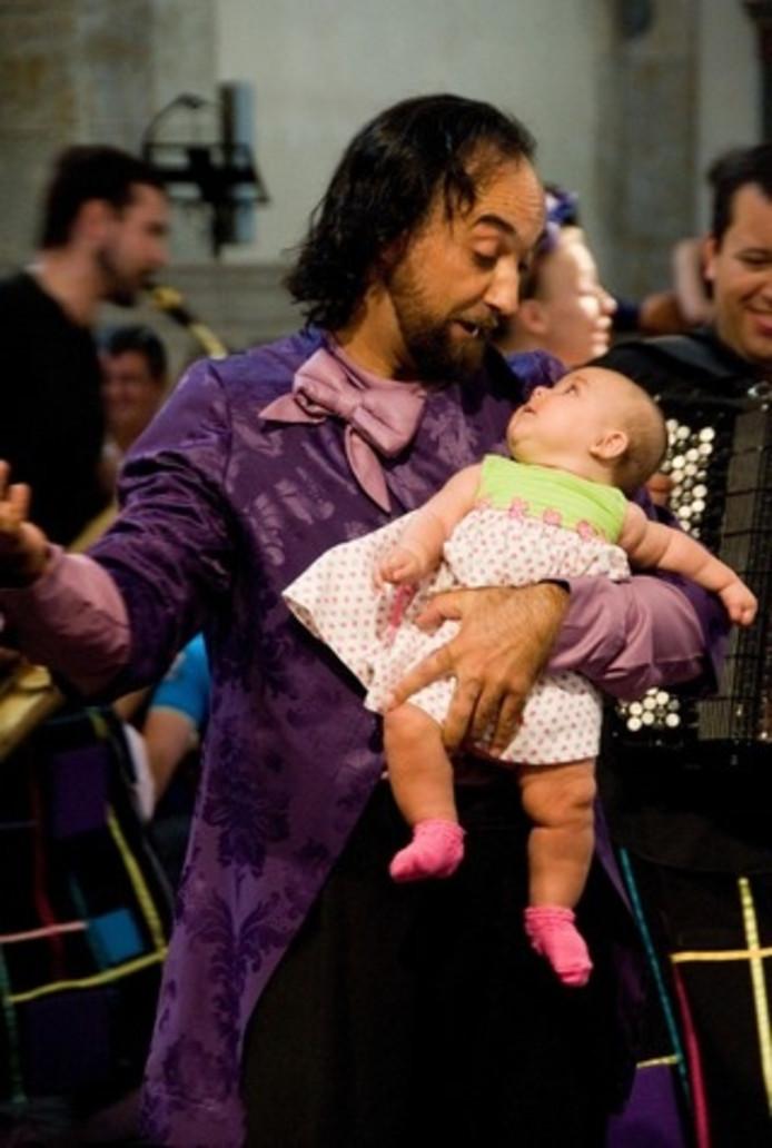 Zelfs voor baby's zijn concerten tijdens Festival Laus Polyphoniae in Antwerpen.