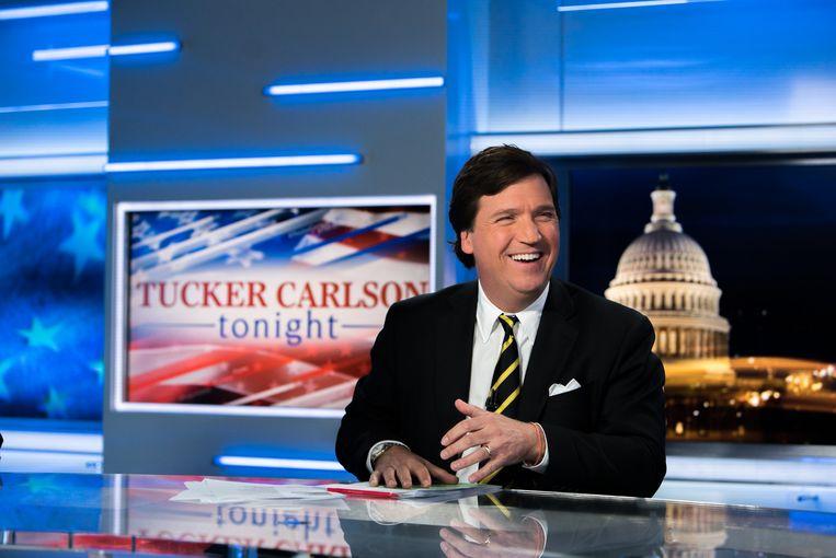 Tucker Carlson. Beeld