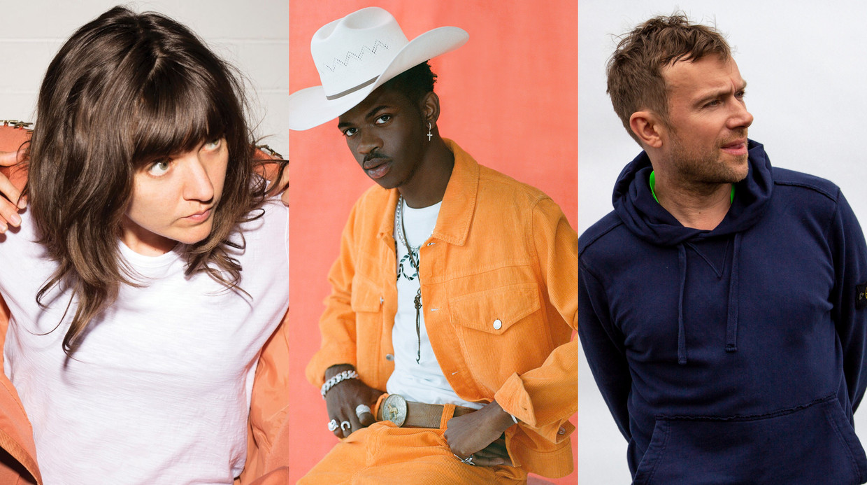 Courtney Barnett, Lil Nas X en Damon Albarn Beeld Humo