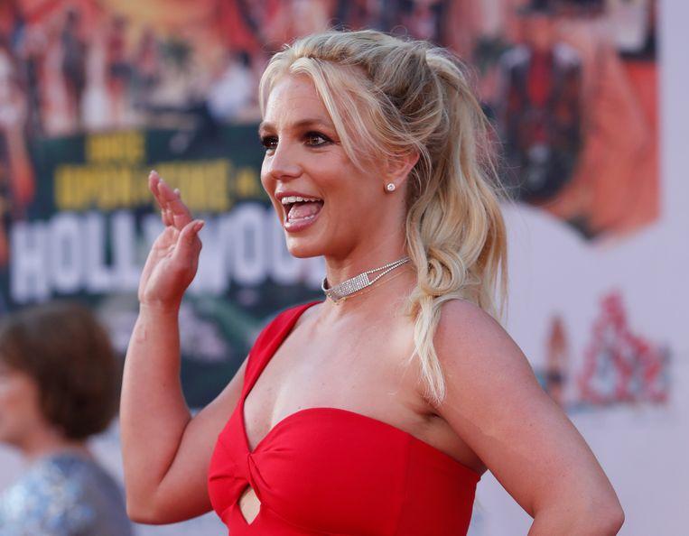 Britney Spears in 2019. In een rechtszaak in Los Angeles vecht de zangeres de ondercuratelestelling bij haar vader aan. Beeld REUTERS