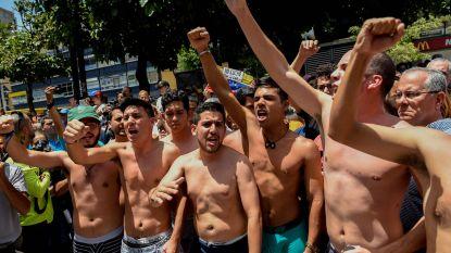 Protest in onderbroek tegen arrestatie van parlementslid in Venezuela