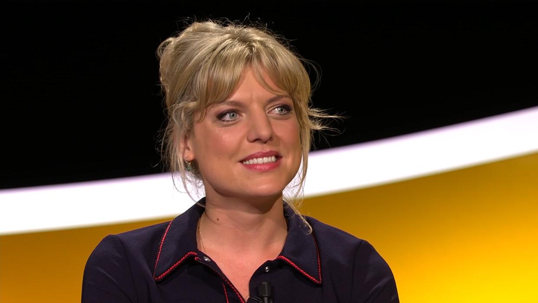Liefst twaalf afleveringen houdt Ella Leyers het nu al vol in 'De slimste mens ter wereld'.  Beeld Vier