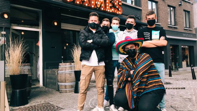 """Tacobar Dos Bandidos opent op Grote Markt: """"Rock 'n roll Mexican streetfood"""""""