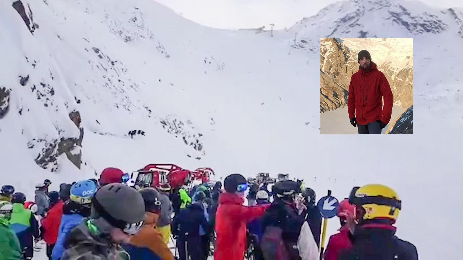 Met man en macht werd zaterdag gezocht naar de twee snowboarders. Inzet Stephan Verheij (39).