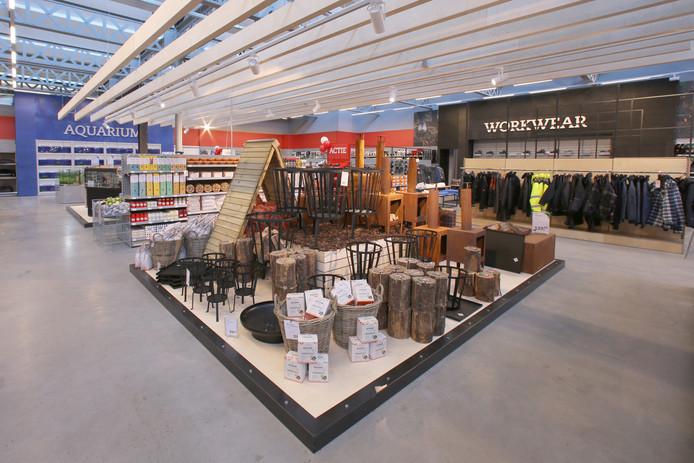 Nieuw concept voor Boerenbond Oosterhout. De foto is gemaakt bij de vestiging in Tilburg.