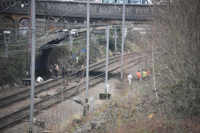 Stoffelijk overschot gevonden naast de spoorlijn Jette - Bockstael