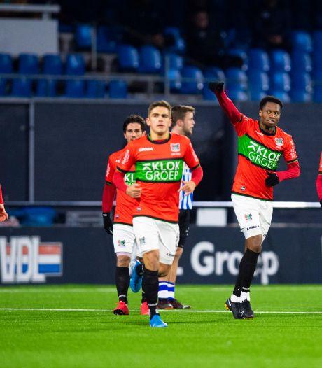 NEC boekt minimale zege, Jong Ajax onderuit tegen Go Ahead