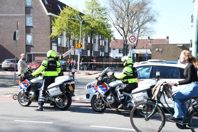 Schietincident bij winkelcentrum Tournoysveld in Woerden.