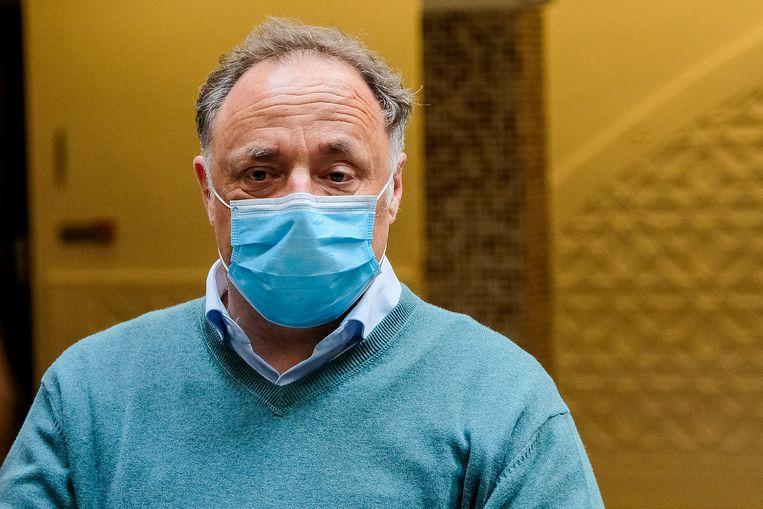 Viroloog Marc Van Ranst. Beeld Marc Baert