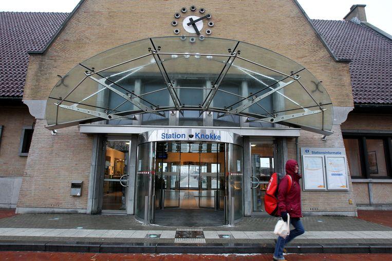 Het station van Knokke