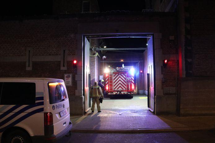 De brandweer kwam ter plaatse en ook de politie was met enkele ploegen ter plaatse.