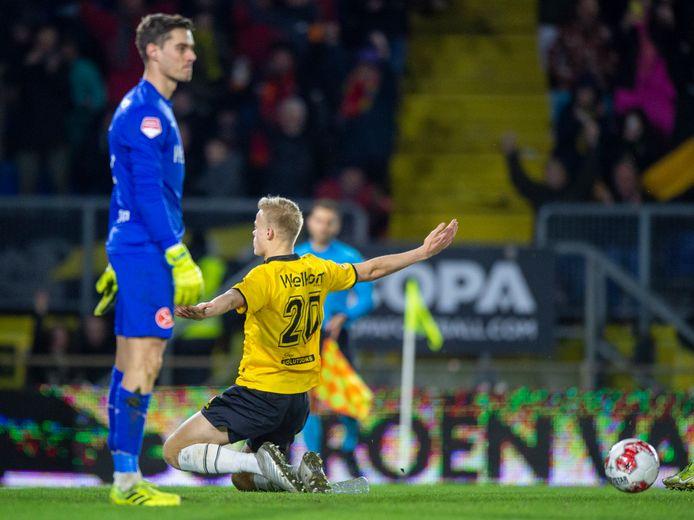 Van Hecke na de 1-0