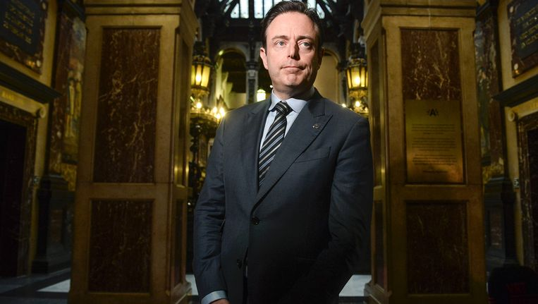 Bart De Wever, voorzitter van N-VA. Beeld belga