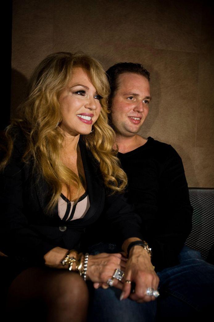 Patricia Paay met vriend Nicky van Dam