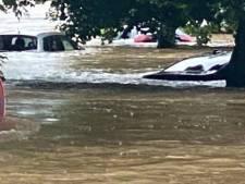 Les centres de Durbuy et Hotton sont sous eaux, de nombreux hôtels évacués