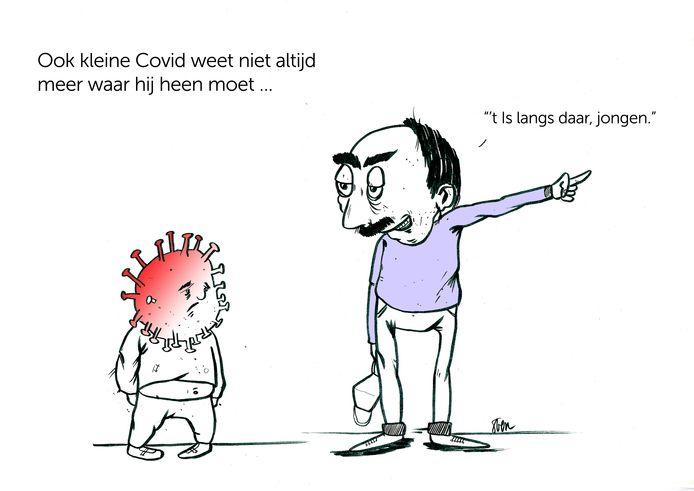 Ook het coronavirus behoort tot de inspiratiebronnen van Sven.