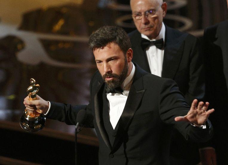 Ben Affleck acteerde, regisseerde en co-produceerde Argo, de Beste Film. Beeld REUTERS
