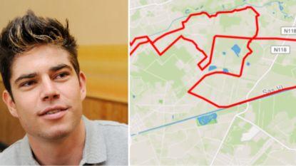 Van Aert heeft eerste training op zijn veldritfiets achter de rug
