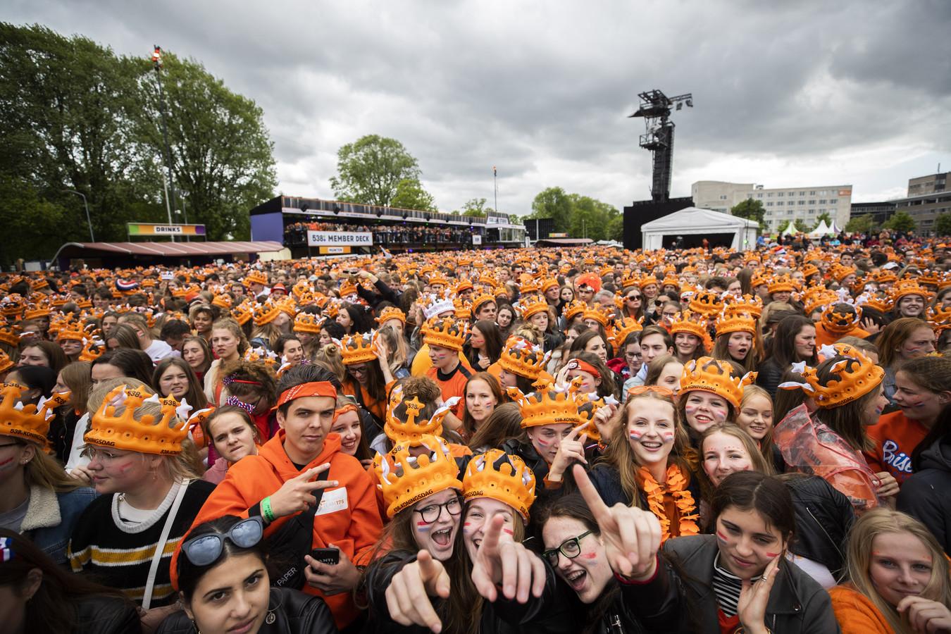 538 Koningsdag in Breda in 2019.