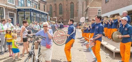 Dweilorkesten bouwen een feestje in Hasselt
