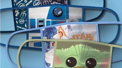 Kiezen tussen Baby Yoda of Anna en Elsa? Disney gaat mondmaskers maken