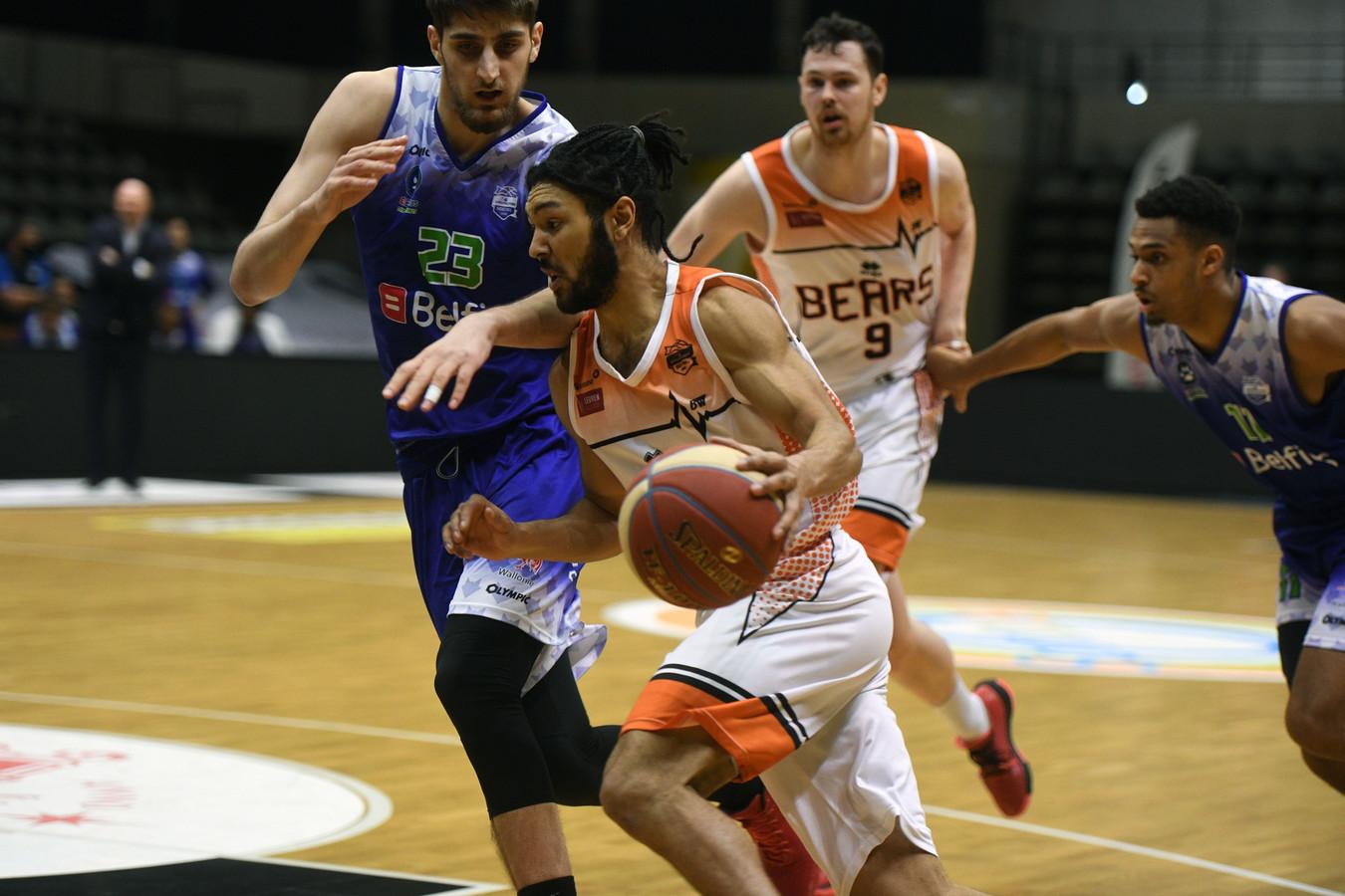 Joshua Heath zal Leuven Bears tijdens de play-offs op sleeptouw moeten nemen.