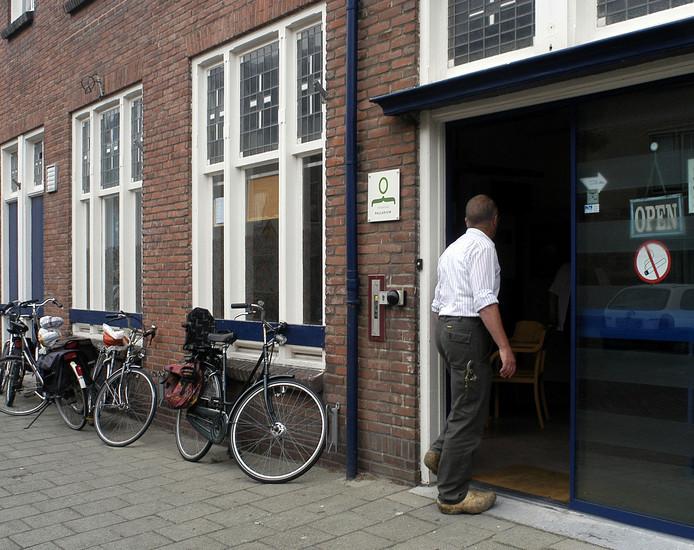 Het wijkcentrum van de Scheldebuurt in de Verkuyl Quakkelaarstraat in Vlissingen.