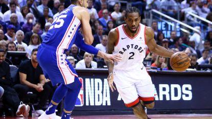Toronto Raptors dicht bij halve finale play-offs NBA