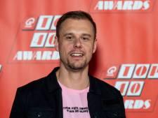 Armin en Duncan met The Streamers bij Paleis Noordeinde