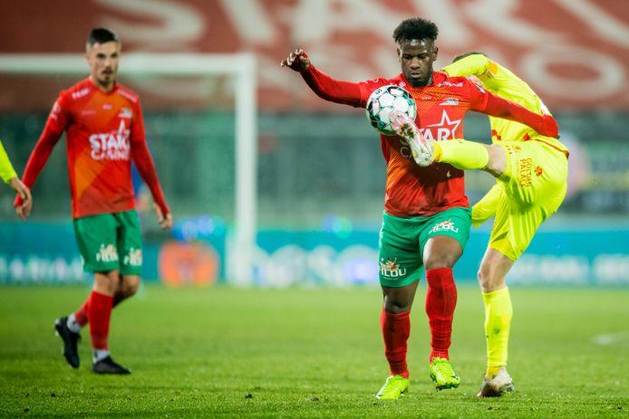 Mamadou Thiam wist zich enkele keren positief te laten opvallen.