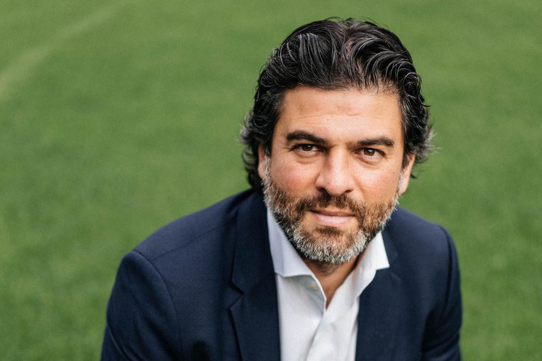 Charleroi-CEO Mehdi Bayat. Beeld Wouter Van Vooren