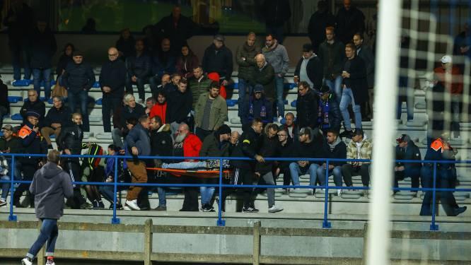 Supporter FC Dender gereanimeerd tijdens bekerwedstrijd na kwalijke val