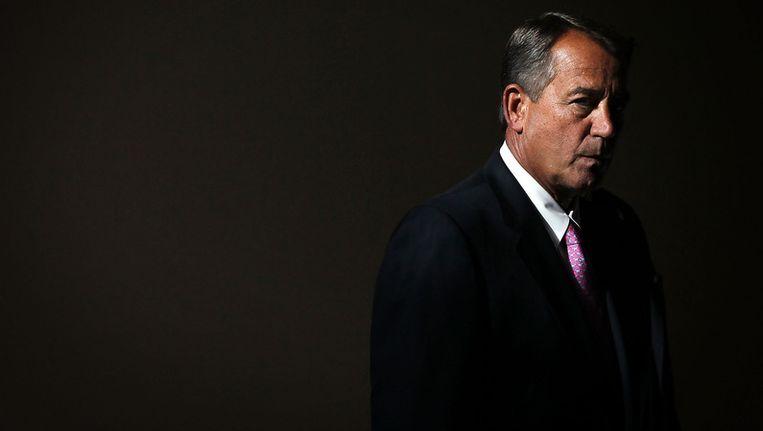 De Republikeinse voorman John Boehner. Beeld getty