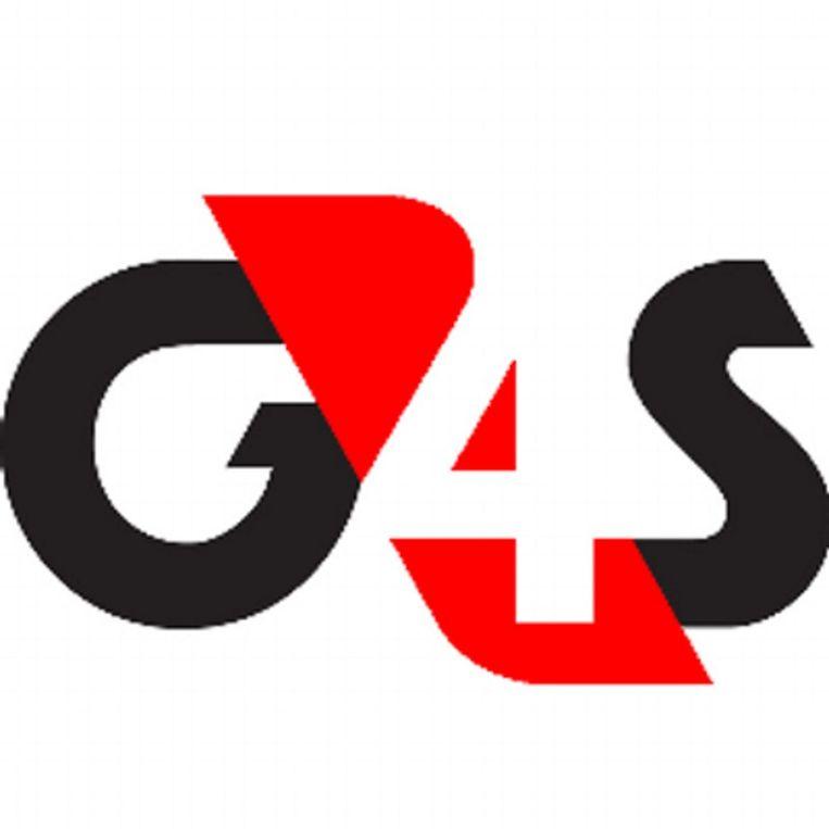 Het logo van G4S Beeld Screenshot