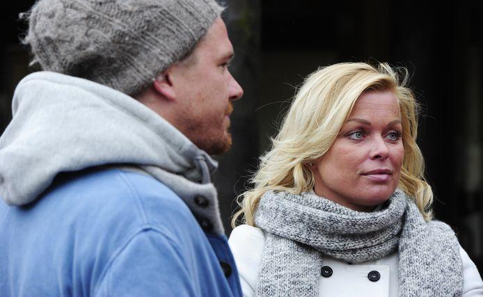 Bridget Maasland en Johnny de Mol begin 2011.
