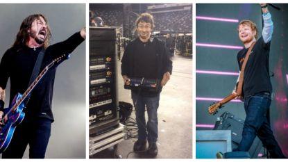 """Technicus Steven Lemahieu: """"Met Foo Fighters of Ed Sheeran ga ik vaak pintjes drinken na hun show"""""""