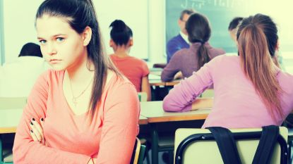 Pesters zijn populairder op middelbare school dan in lagere school