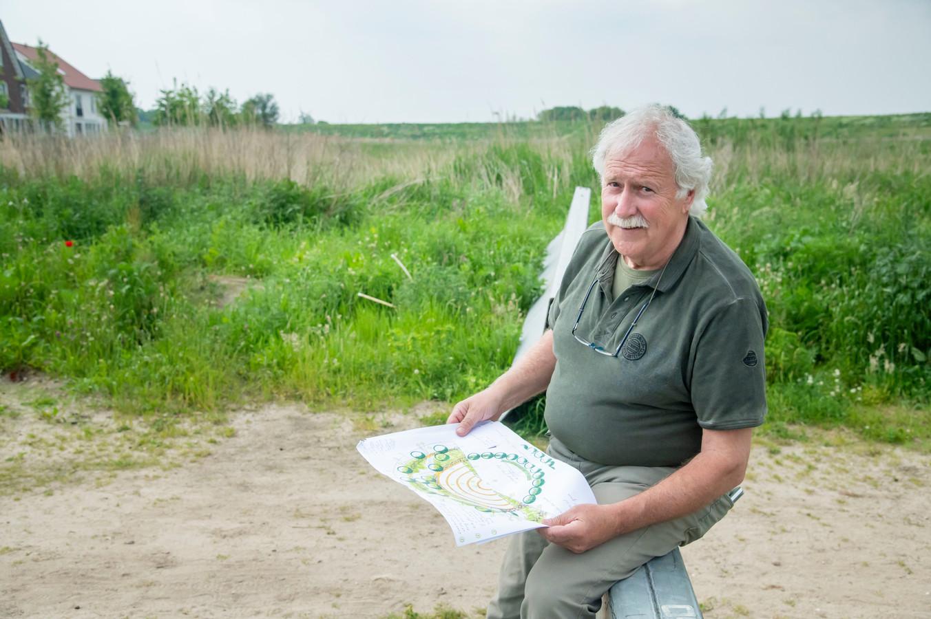 Voor het vijfde jaar op rij daagt de gemeente Harderwijk inwoners uit met ideeën te komen die bijdragen aan het verbeteren van de openbare ruimte. Dirk Verhey heeft plannen voor een amfitheater voor kunst en muziek in de openlucht.